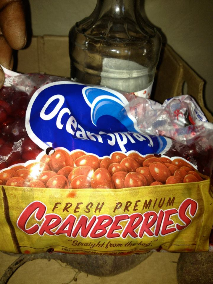 1 cranberries