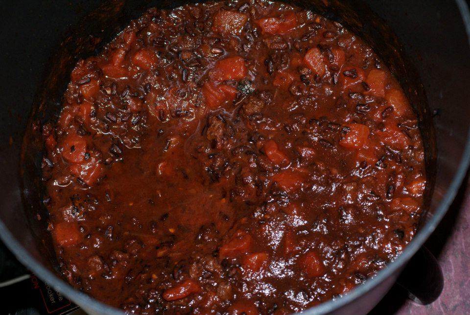 28 black bean chili