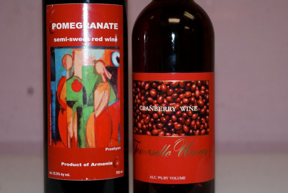pom wine cranberry wine