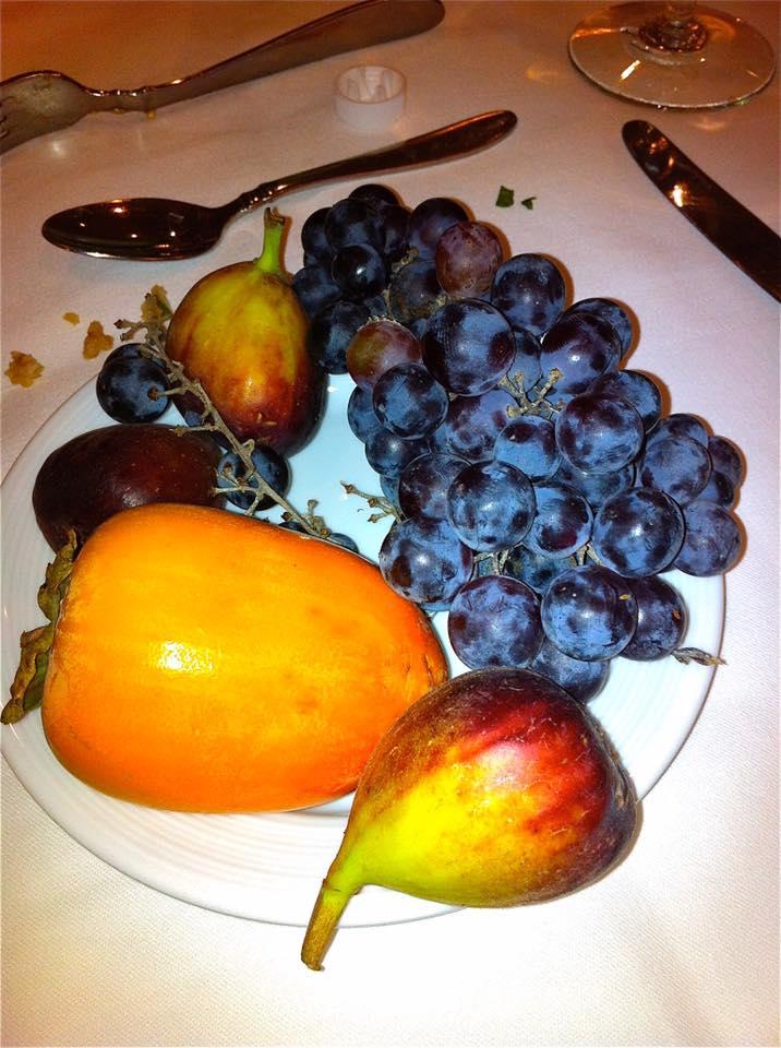 grapes figs persimmon